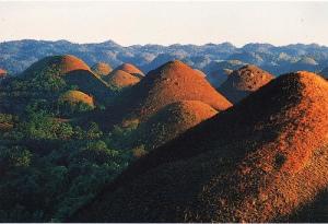 Chocloate Hills of Bohol